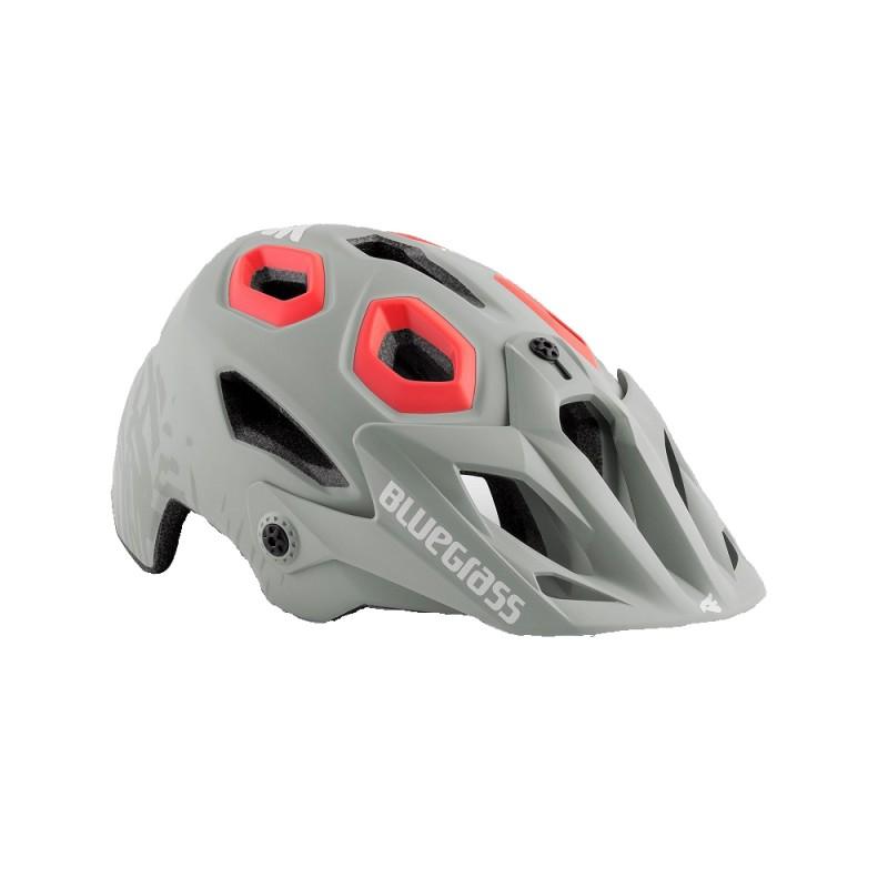 Bluegrass Golden Eyes MTB Cycling Helmet Lunar Grey Texture Pink Matt 2019