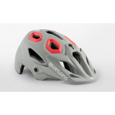 Bluegrass Golden Eyes MTB Cycling Helmet Lunar Grey Texture Pink Matt 2019