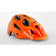 Bluegrass Golden Eyes MTB Cycling Helmet Orange Texture Matt 2019