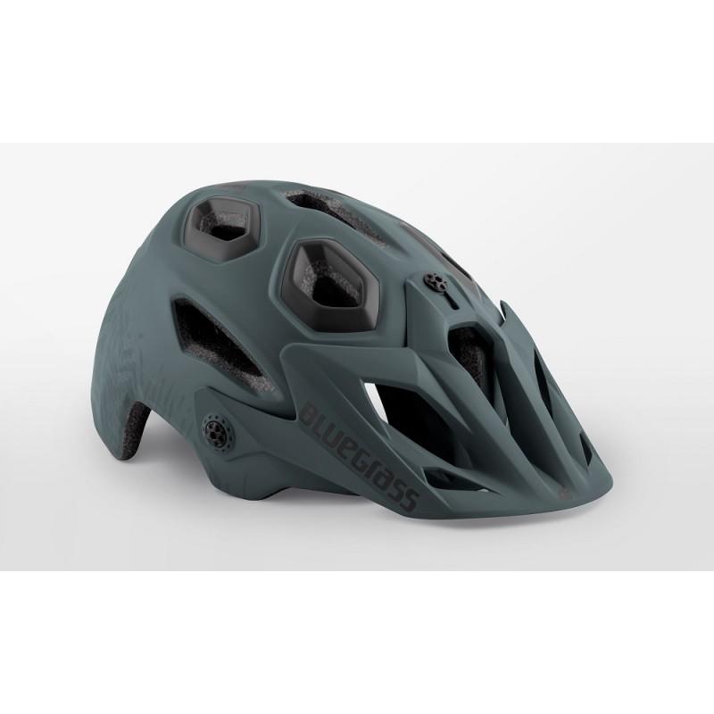 Bluegrass Golden Eyes MTB Cycling Helmet Storm Grey Texture Black Matt 2019