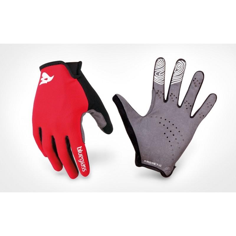 Bluegrass Magnete Lite Full Finger Hand Gloves Red Black 2019