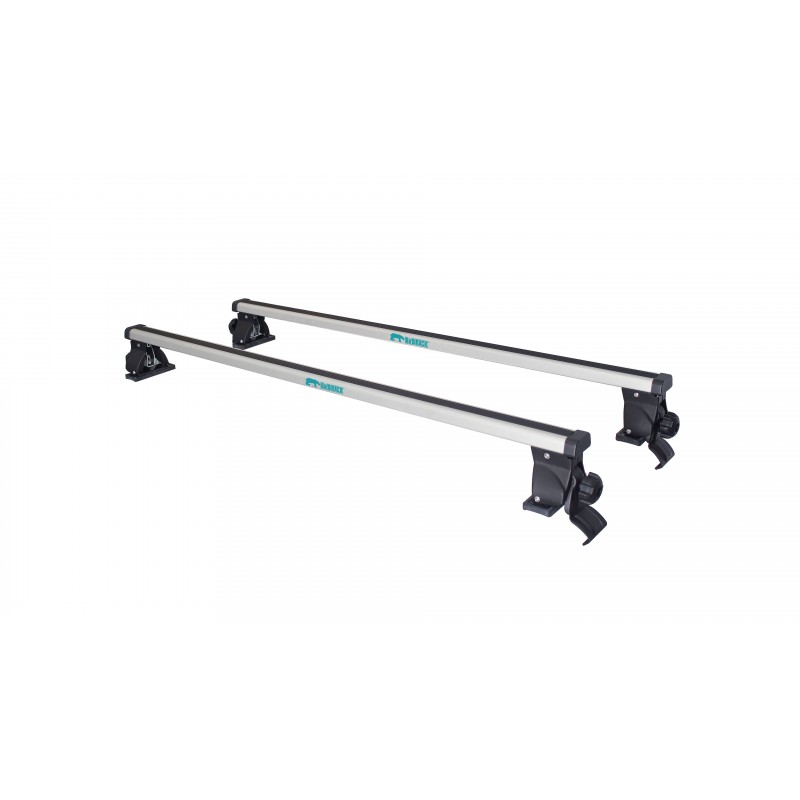 BnB Roof Rack Base Bar Alu With Footpack and Clamp CB-1015-125