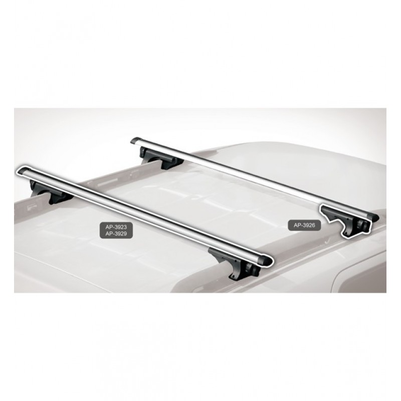 BnB Roof Rack Cross Bar Alu (123cm) only Bars  ap-3923