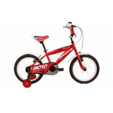 Brooks Moto Race 16T Kids Bike 2018 Red
