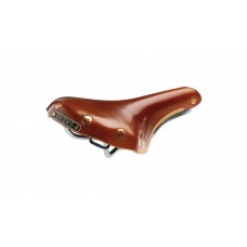 Brooks Swift Chrome Saddle Honey
