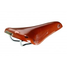 Brooks Team Pro Chrome Saddle Honey