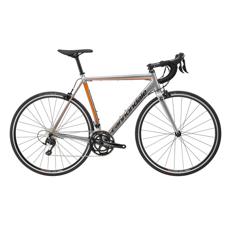 Cannondale CAAD Optimo 105 Road Bike 2018 Grey/Orange