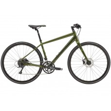Cannondale Quick 3 Disc Hybrid Bike 2019 Army Green