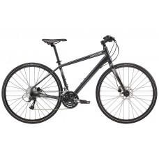 Cannondale Quick 5 Disc Hybrid Bike 2018 Jet Black