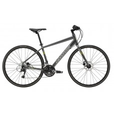 Cannondale Quick 5 Disc Hybrid Bike 2019 Grey