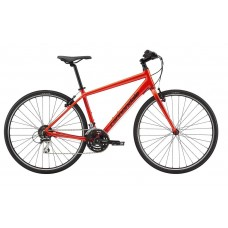 Cannondale Quick 7 Hybrid Bike 2019 Acid Red