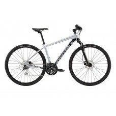 Cannondale Quick CX 4 Hybrid Bike 2019 Silver