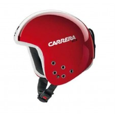 Carrera Bullet Fiberglass Shell Helmet Red Shinny Speed
