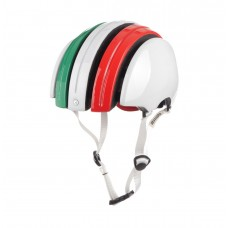 Carrera GTX Foldable Helmet Green/White/Red
