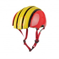 Carrera GTX Foldable Helmet Red Yellow