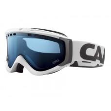 Carrera Zenith All-Mountain Ski Goggles, White Stripes