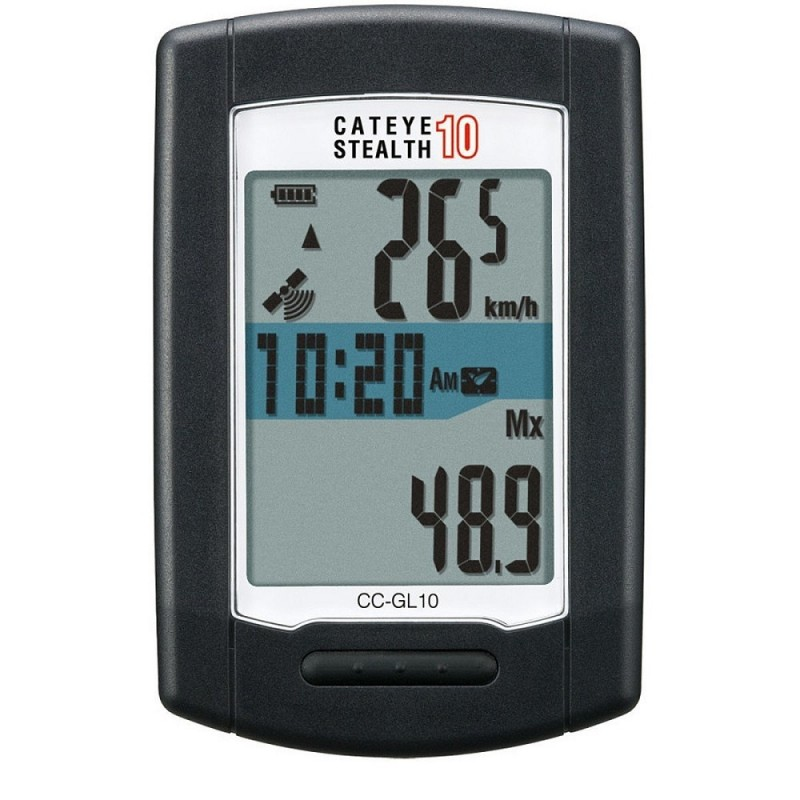 Cateye CC-GL10 Stealth 10 GPS Cycle Computer