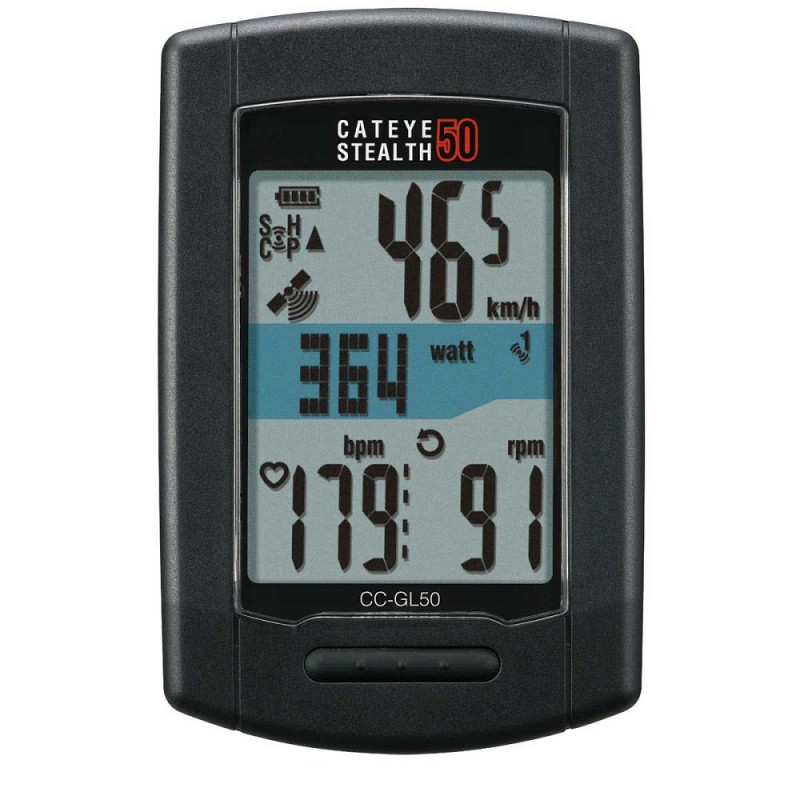Cateye CC-GL50 Stealth 50 GPS Cycling Computer