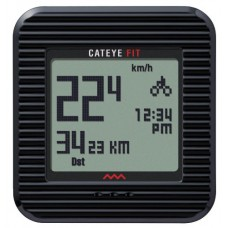 Cateye CC-PD100W Cateye Fit Pedometer Bike Computer