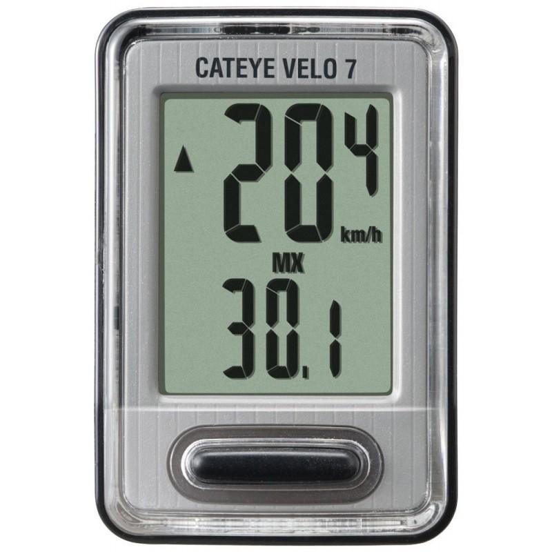 Cateye CC-VL520 Velo 7 Wired Bike Computer