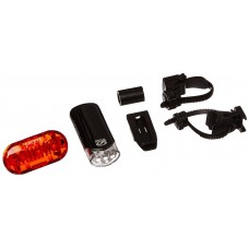 Cateye HL-EL135 And TL-LD135 Omni 3 Bicycle Headlight And Taillight Set