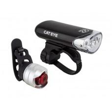 Cateye Lampset HL-EL 135N And TL135N-LD160