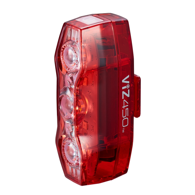 Cateye VIZ450 Rechargeable Bicycle Tail Light