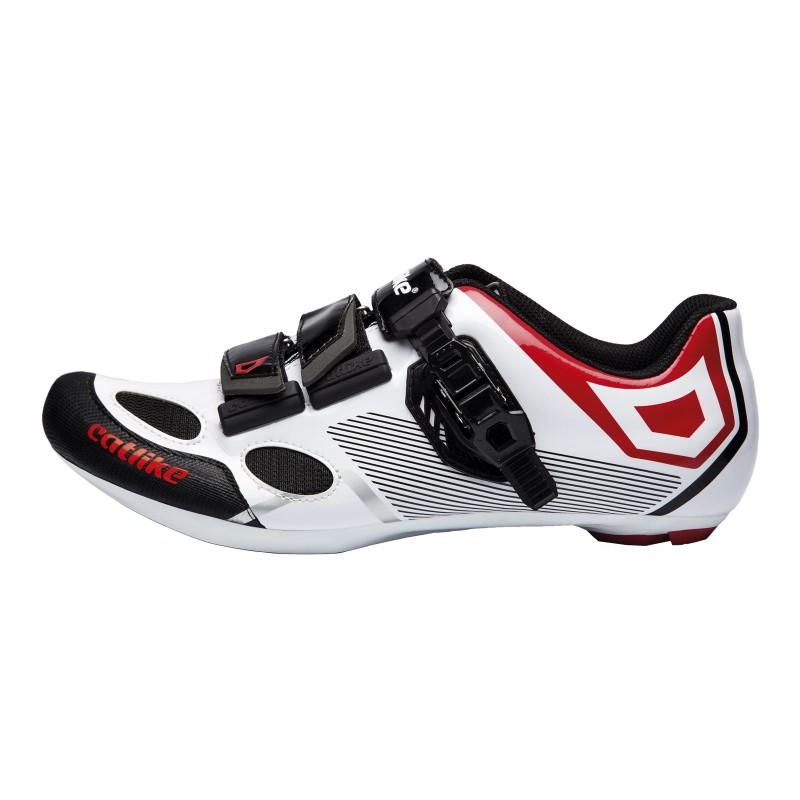 Catike Sirius Road Shoe White-Red-Black 2016