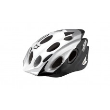 Catlike Kompact'o White-Silver-Black With Visor Bicycle Helmet