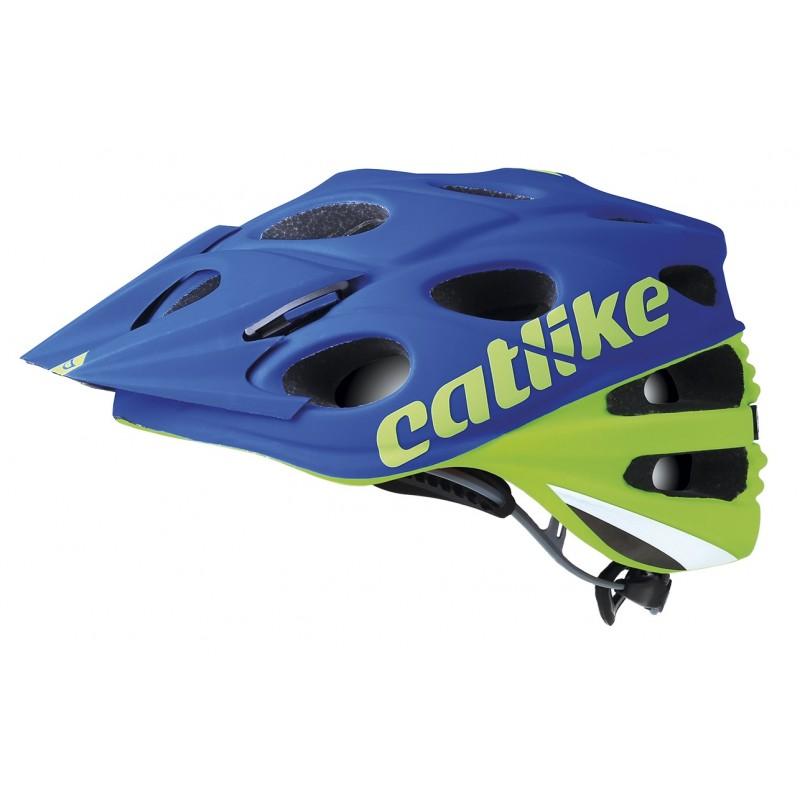 Catlike Leaf 2C MTB Bike Helmet Green Blue