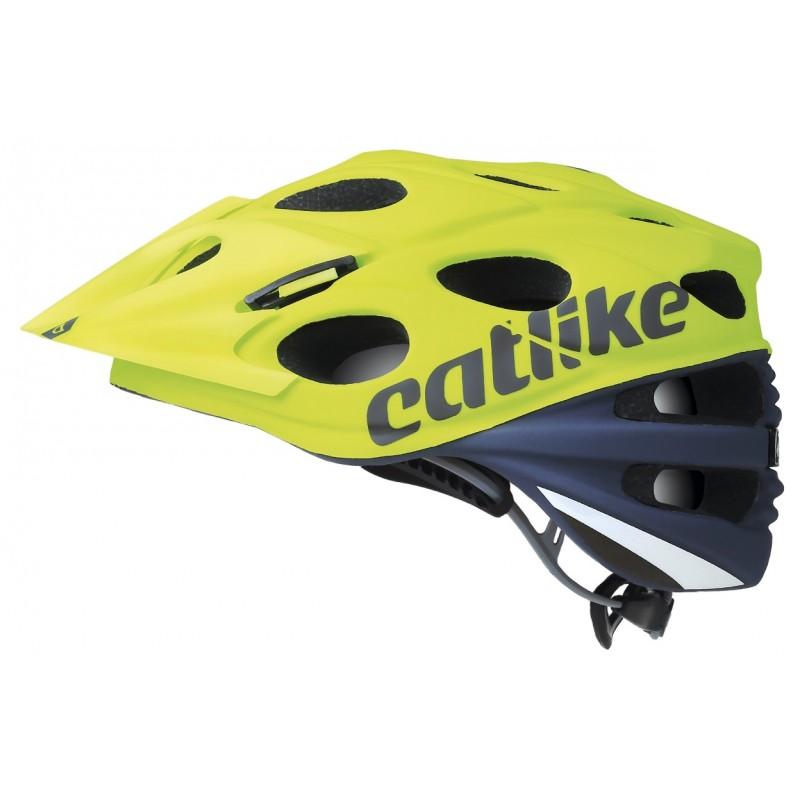 Catlike Leaf 2C MTB Bike Helmet Grey Lime