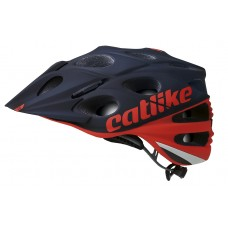 Catlike Leaf 2C MTB Bike Helmet Red Black