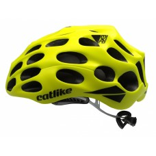 Catlike Mixino Road Bike Helmet Matt Fluor Yellow