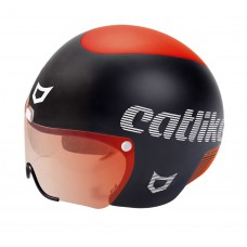 Catlike Rapid Triathlon Bike Helmet Matt Black Red