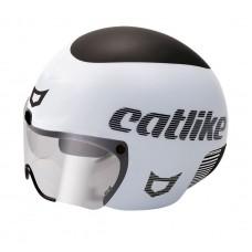 Catlike Rapid Triathlon Bike Helmet Matt White Black