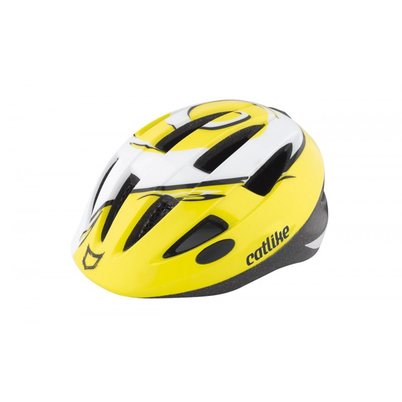 Catlike Twister Yellow Cycling Helmet