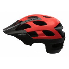 Catlike Vulcano MTB Bike Helmet Black Red