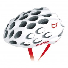 Catlike Whisper Plus Deluxe White-Red Brightnes Road Helmet