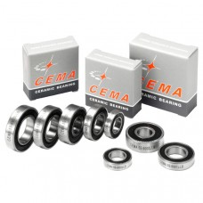Cema 6801 Chrome Steel Wheel Bearing