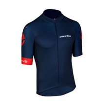 Cervelo Cycling Short Sleeves Jersey Navy Blue
