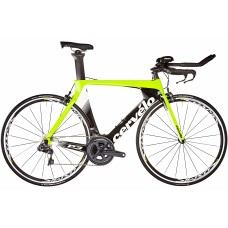 Cervelo P3 Ultegra R8000 Road Bike 2019 Black/Fluoro/White