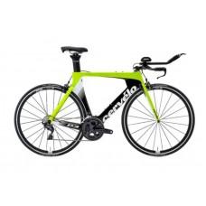 Cervelo P3 Ultegra R8000 Triathlon Bike 2019 Black (Fluoro/White)