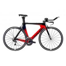 Cervelo P3 Ultegra R8000 Triathlon Bike 2019 Red (Black/Navy)