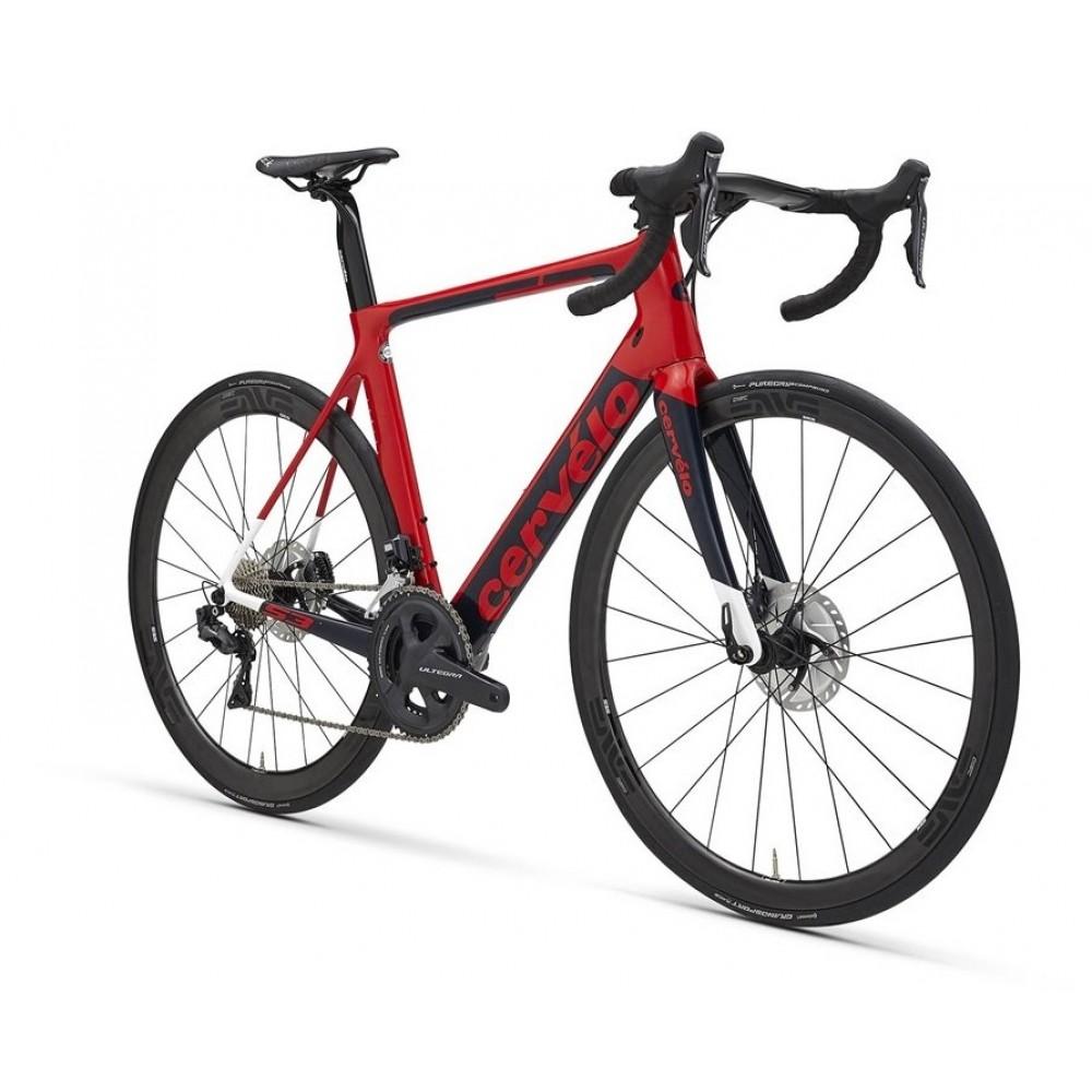 95b90f3b1ba Buy Cervelo S3 Disc Ultegra Road Bike 2018 Red Blue White Online in ...