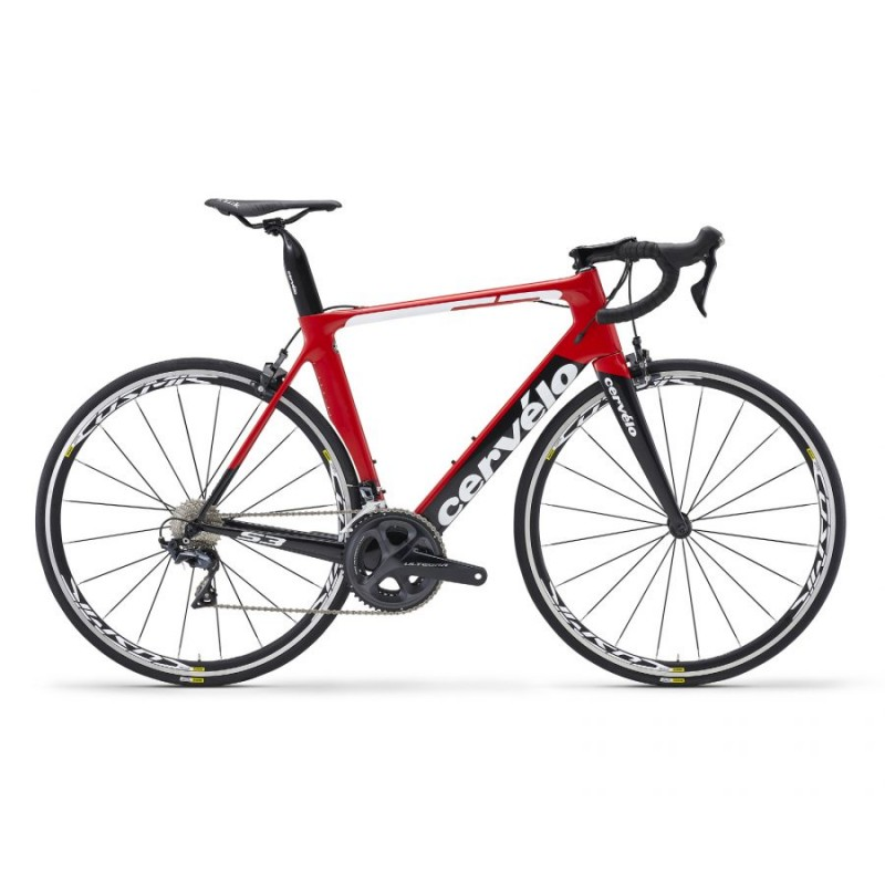 Cervelo S3 Ultegra 8000 Road Bike 2018 Red/Black/White