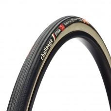 Challenge 700x25c 320TPI Handmade Strada SC Road Bike Tubular Tyre Black/White