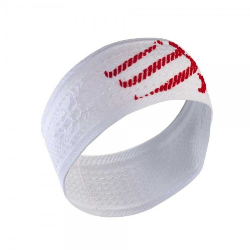 Compressport Headband On/Off -White