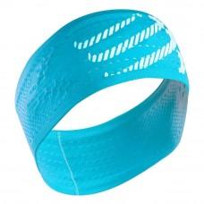 Compressport Headband On/Off Fluo Blue