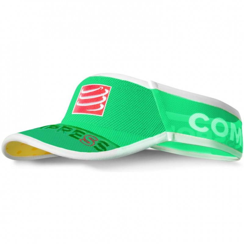 Compressport Visor Fluo Green