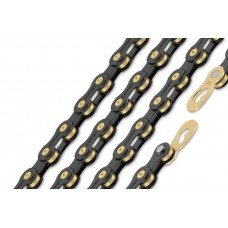Connex 10sB 10 Speed Bike Chain Black EDI Coating, Brass